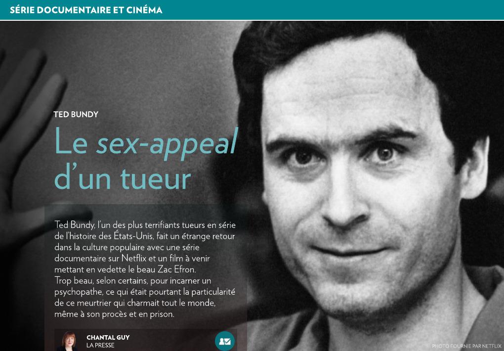 Ted Bundy Le Sex Appeal Dun Tueur La Presse