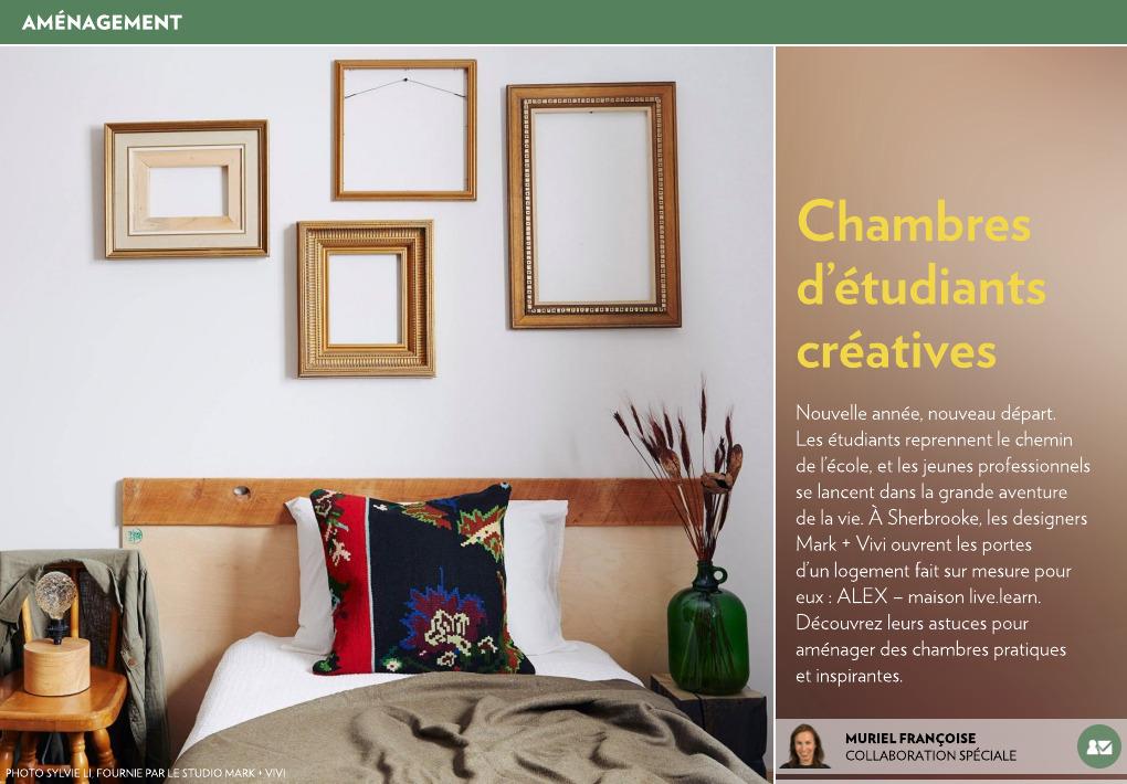 Chambres d étudiants créatives la presse