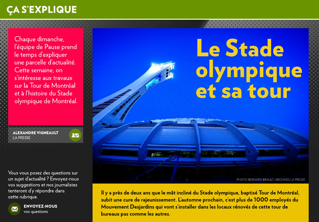 Toit stade olympique prix