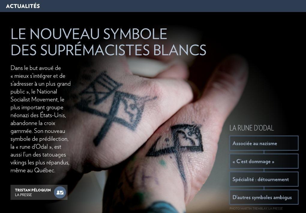 Le Nouveau Symbole Des Supremacistes Blancs La Presse