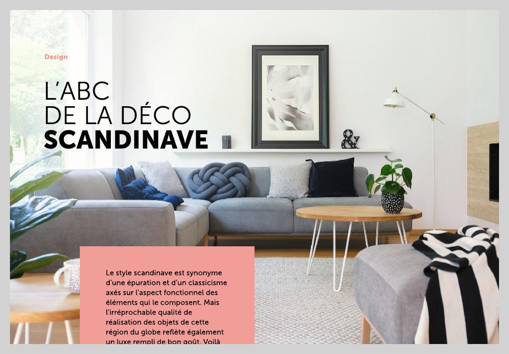 L Abc De La Déco Scandinave La Presse