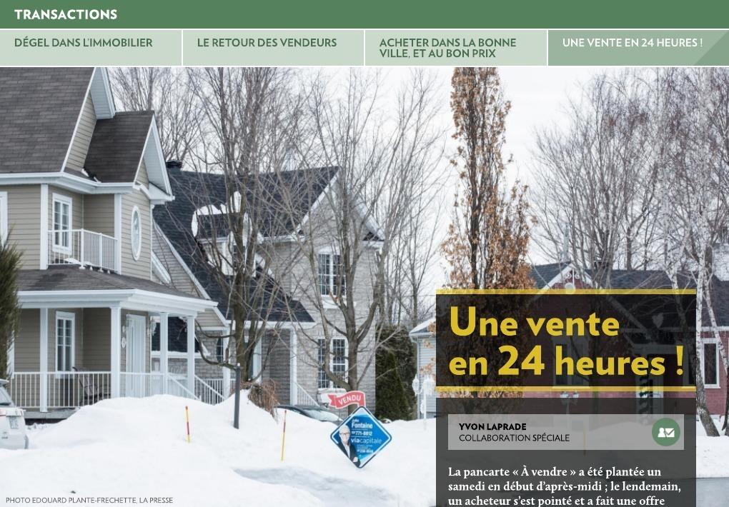 Dégel dans l'immobilier - La Presse+