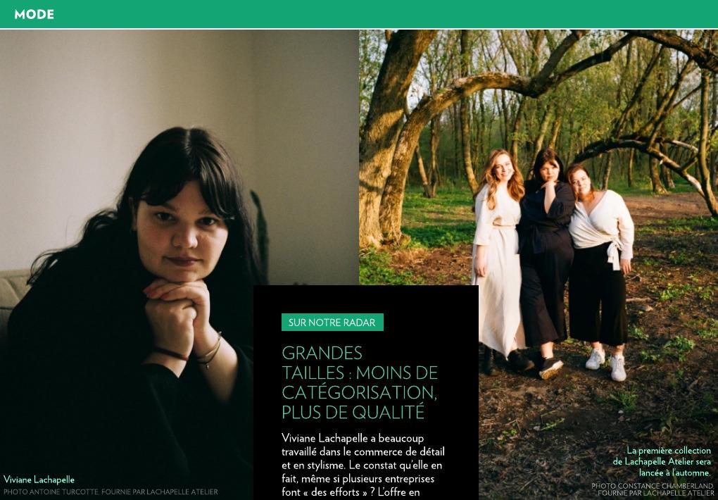 Lachapelle Atelier, Osheaga, Paperole et Molson... - La Presse+