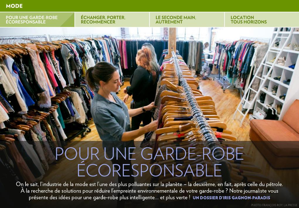 dd2a72411ba Pour une garde-robe écoresponsable - La Presse+