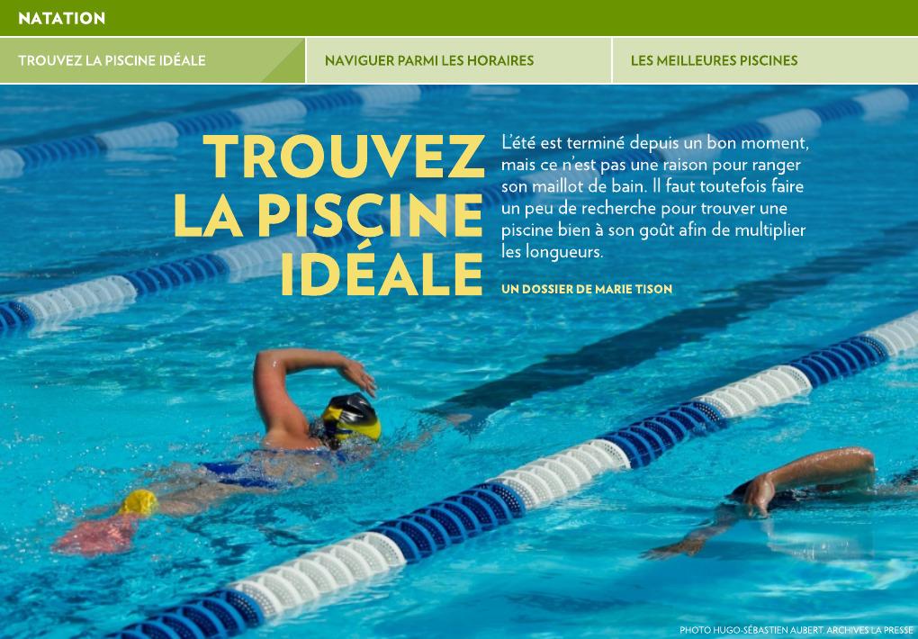 Trouvez La Piscine Ideale La Presse