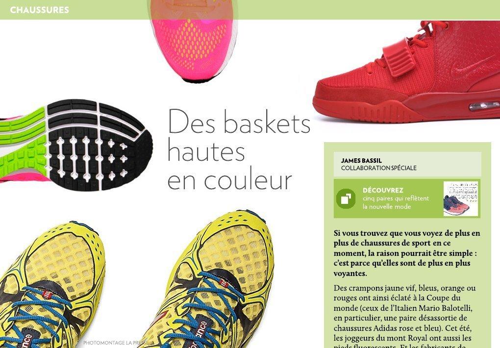 Baskets La Presse Hautes En Des Couleur uJ5K1lTFc3