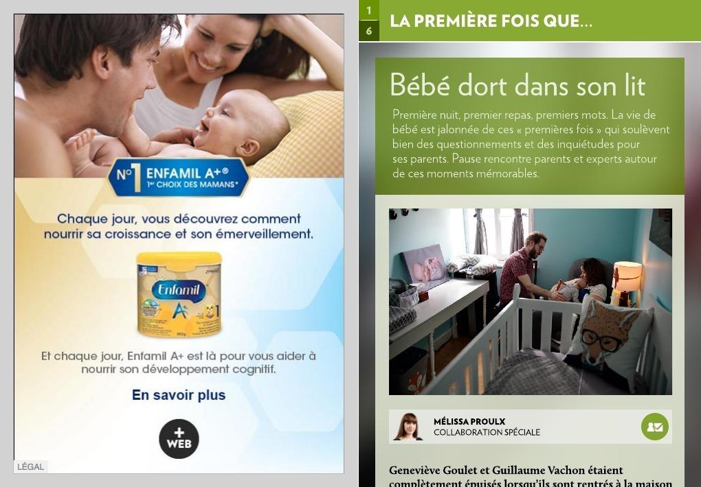 22e9d4f1784658 Bébé dort dans son lit - La Presse+