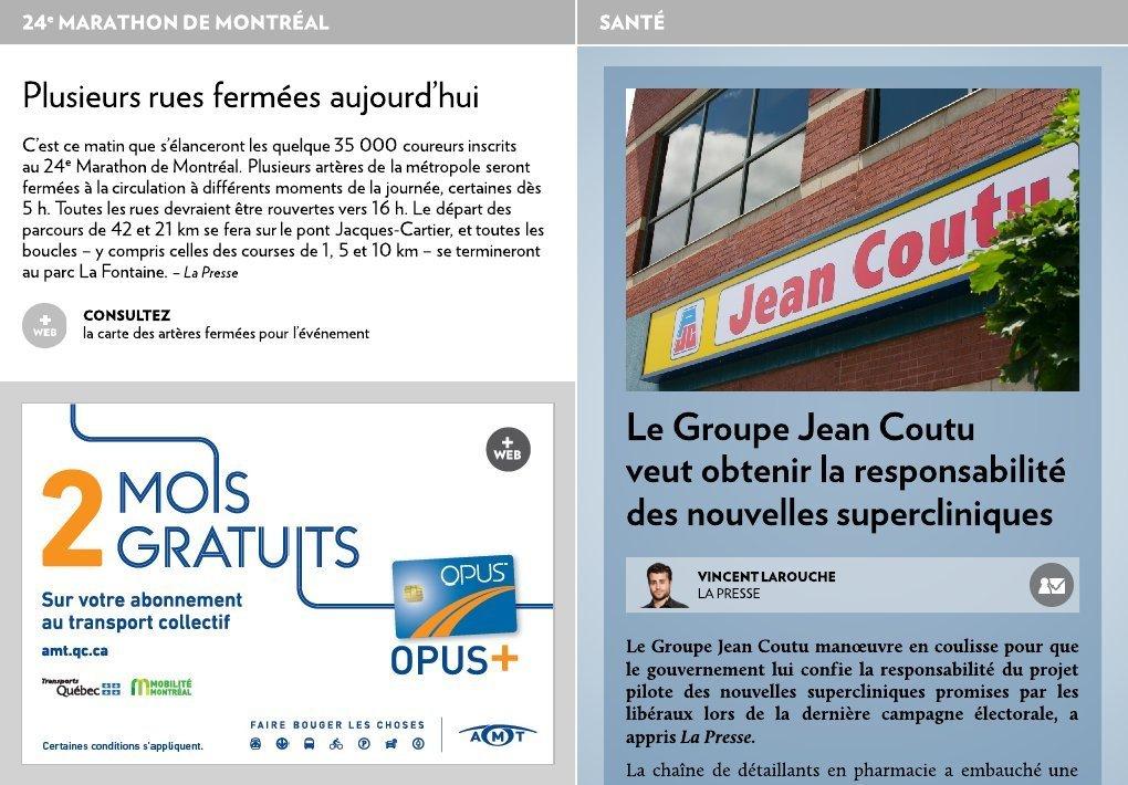 Photo Carte Assurance Maladie Jean Coutu.Le Groupe Jean Coutu Veut Le Mandat La Presse
