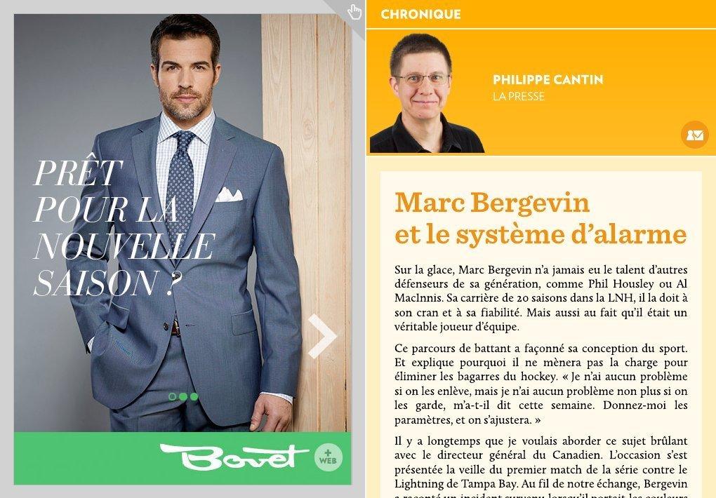 Marc bergevin et le syst me d alarme la presse for Les systemes d alarme