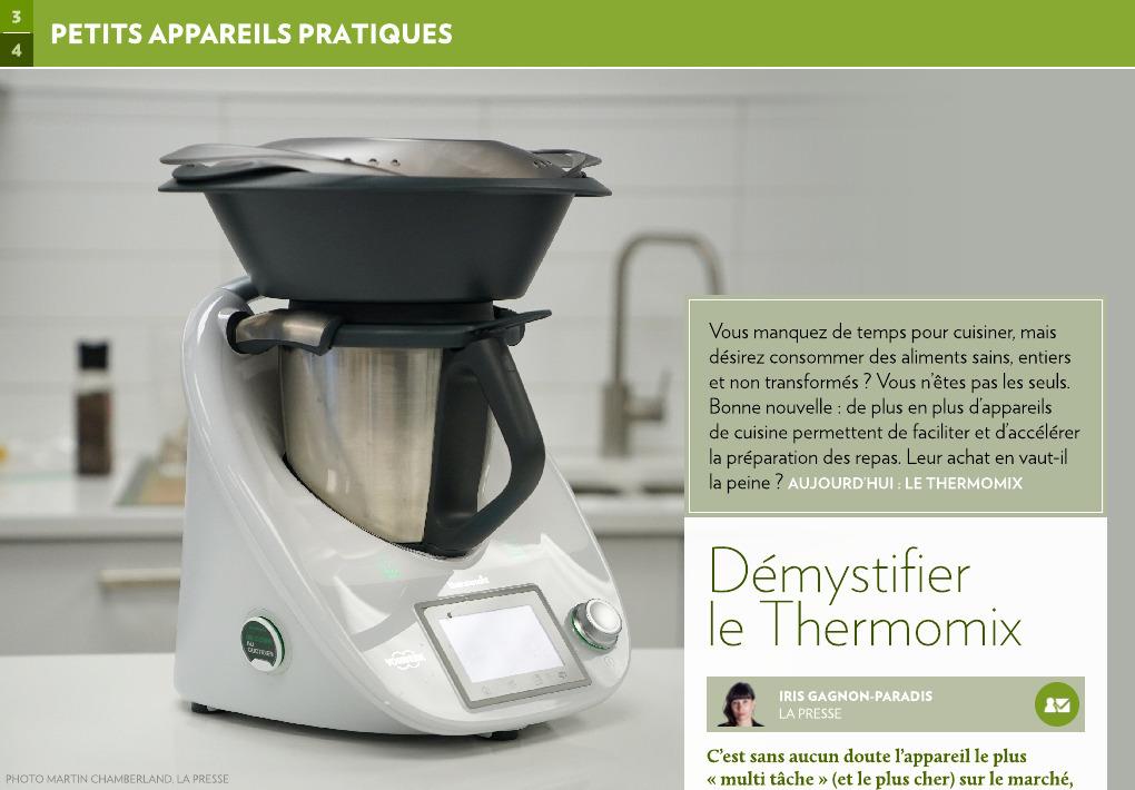Demystifier Le Thermomix La Presse
