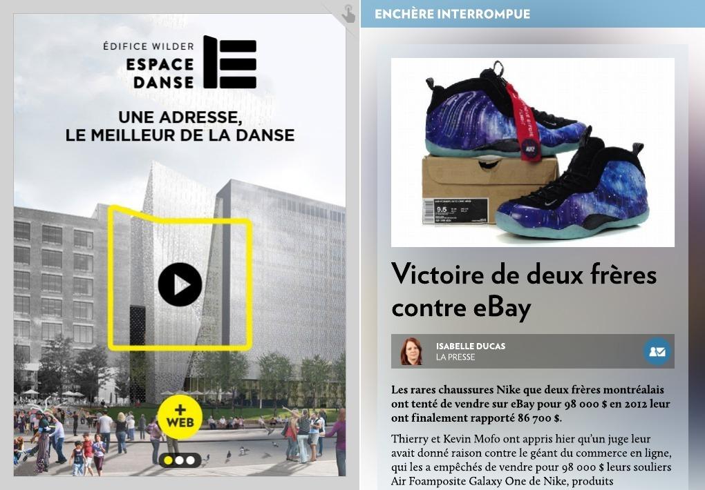 Offre de 98 000 $ pour des espadrilles: eBay doit payer pour