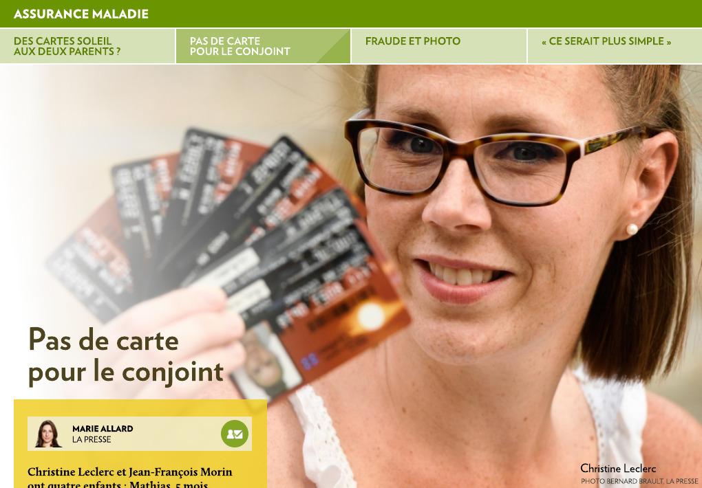 Carte Assurance Maladie Du Quebec Perdue.Faut Il Donner Des Cartes Aux Deux Parents La Presse
