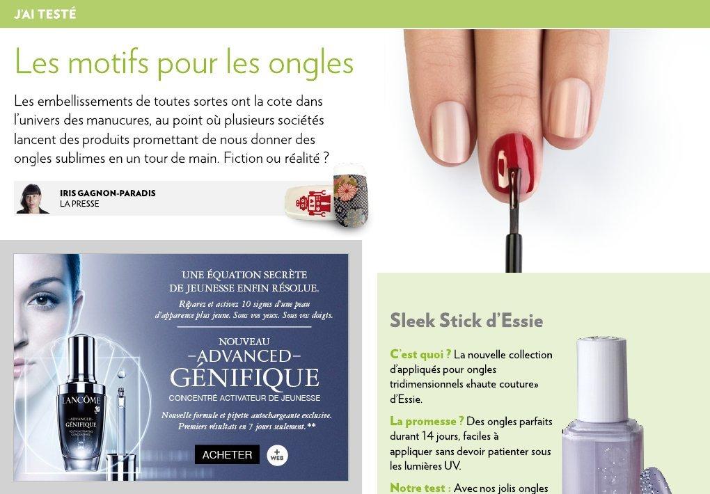 Les motifs pour les ongles la presse - Salon pour les ongles ...