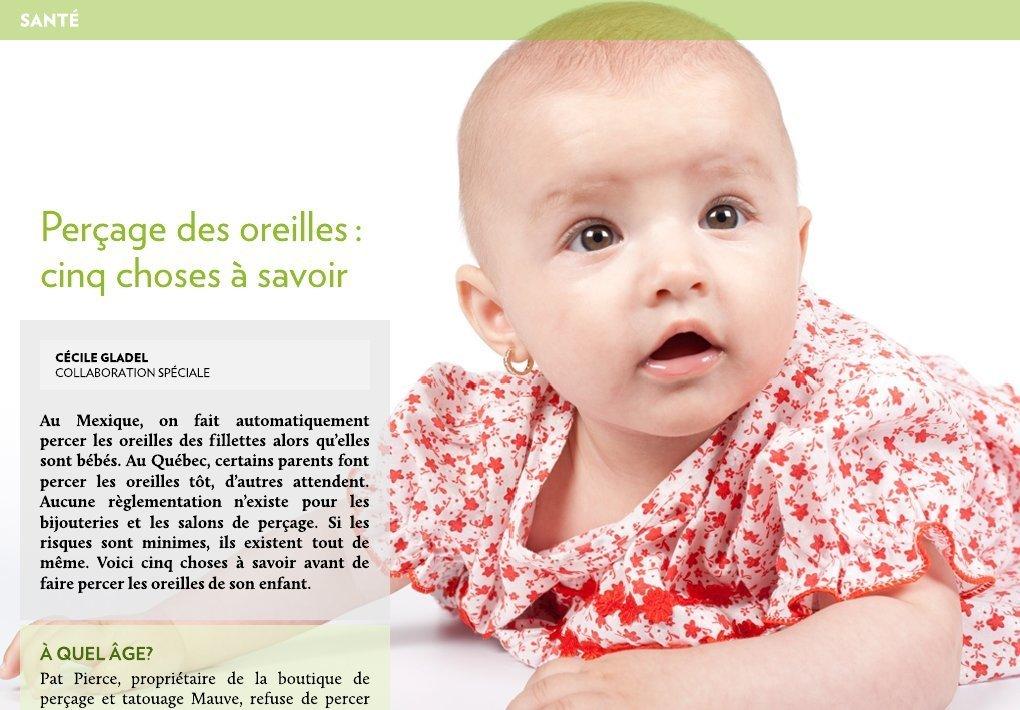 Per age des oreilles cinq choses savoir la presse - Porte bebe babybjorn a partir de quel age ...