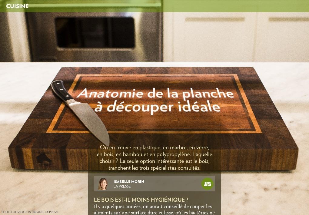 anatomie de la planche d couper id ale la presse. Black Bedroom Furniture Sets. Home Design Ideas