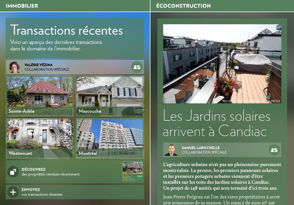 Les Jardins solaires arrivent à Candiac - La Presse+