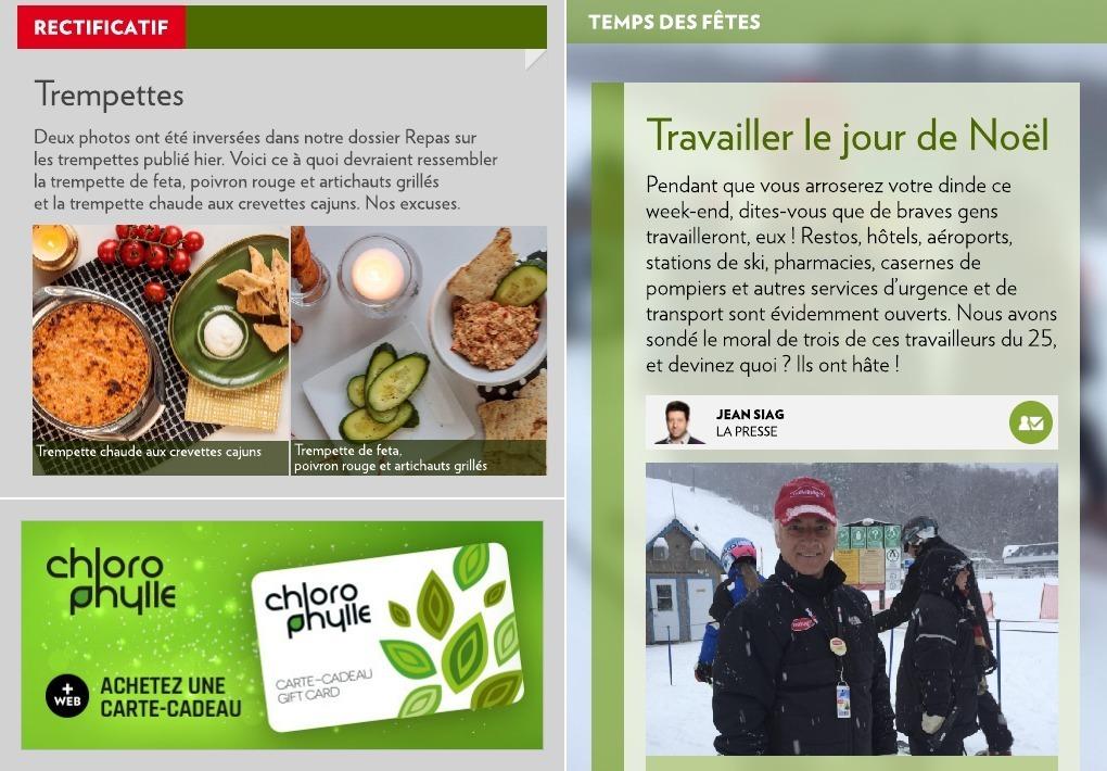 d8eb6557f72 Travailler le jour de Noël - La Presse+