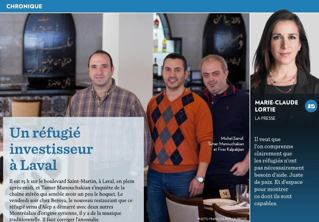 Un Refugie Investisseur A Laval La Presse