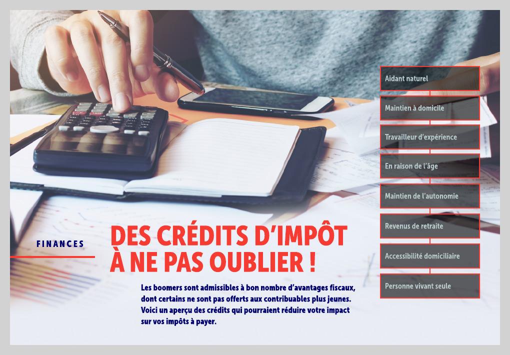 Des Credits D Impot A Ne Pas Oublier La Presse