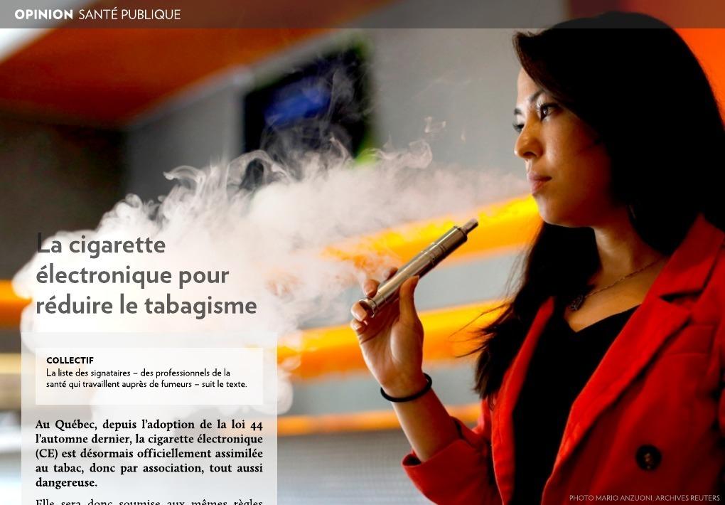 Québec collectif tabac Enquête québécoise