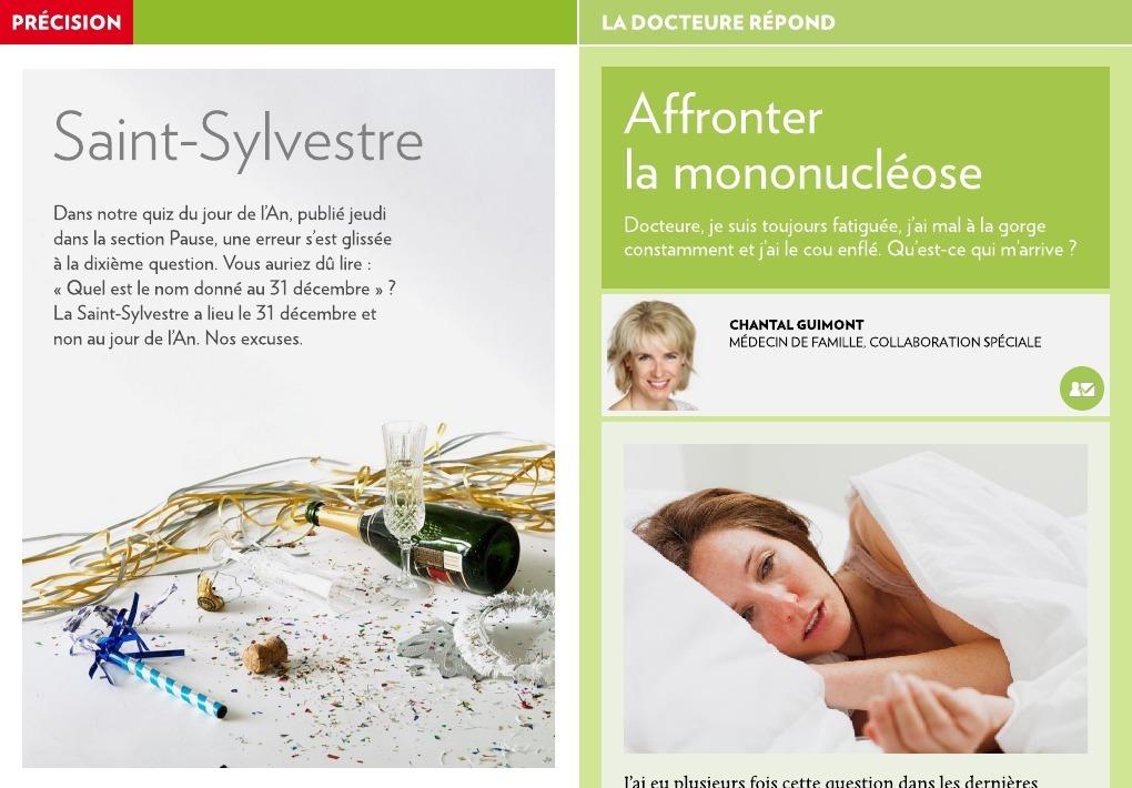 Affronter la mononucléose - La Presse+
