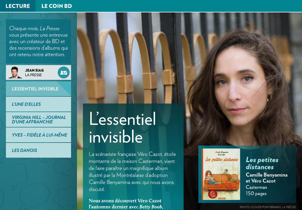ae5db019a9c L essentiel invisible - La Presse+