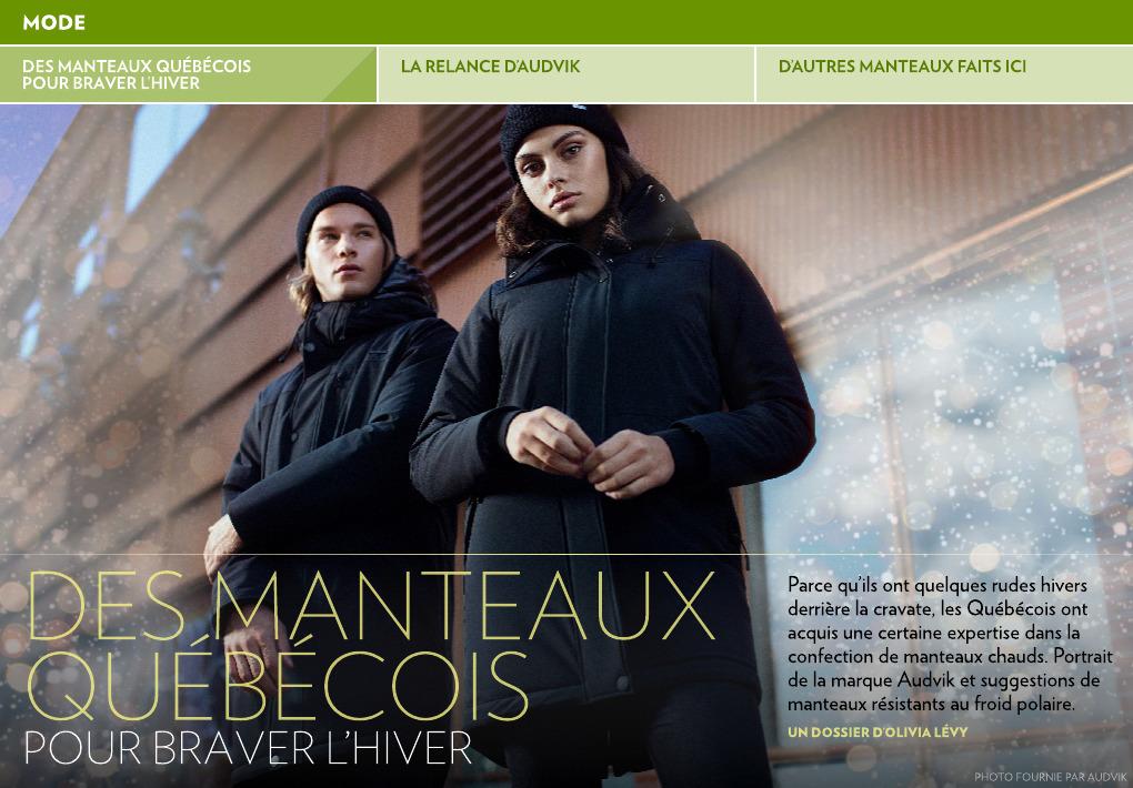 Pour Manteaux Québécois Presse La L'hiver Des Braver gImY6ybv7f