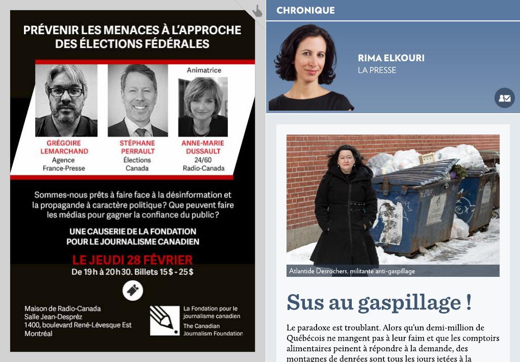 Sus Au Gaspillage La Presse