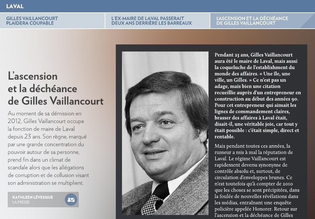 Gilles Vaillancourt Plaidera Coupable La Presse