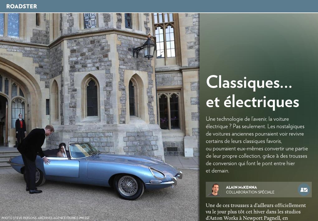 649d4c5ad7ac Classiques… et électriques - La Presse+