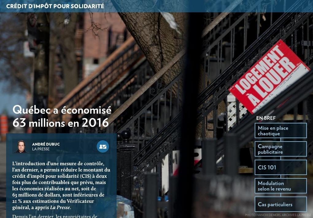 credit impot solidarité revenu maximu