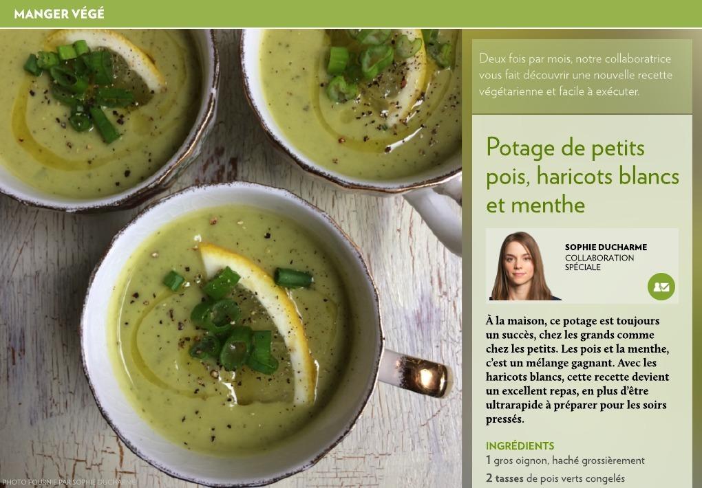soupe haricot coco