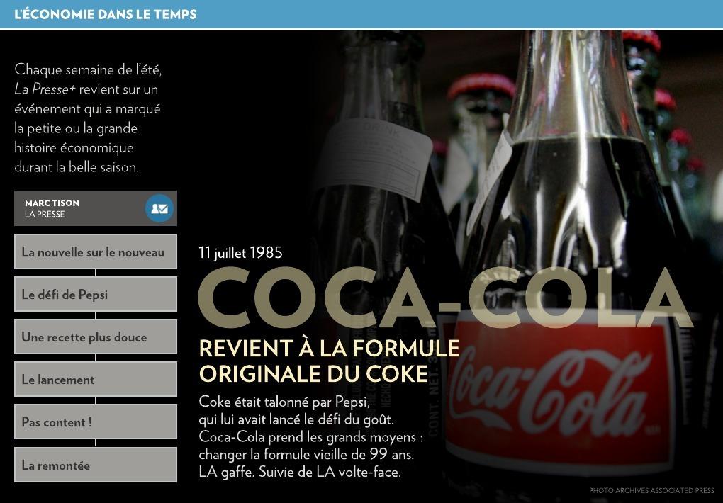 cocaïne dans le coca cola