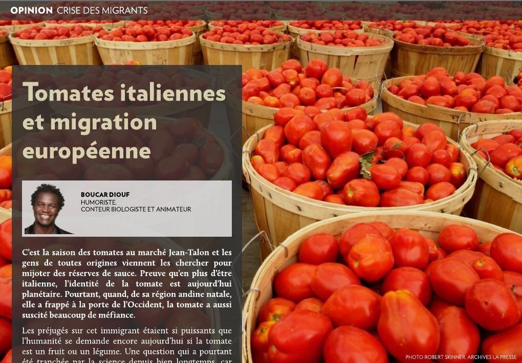 tomates italiennes et migration europ enne la presse. Black Bedroom Furniture Sets. Home Design Ideas