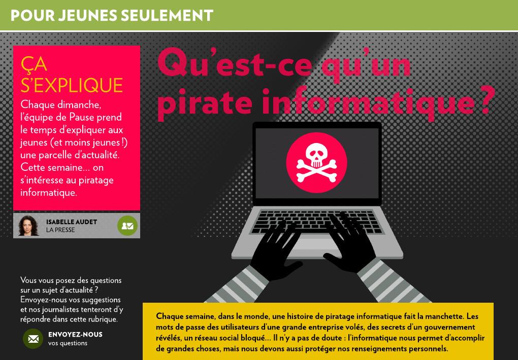 Qu Est Ce Qu Un Pirate Informatique La Presse