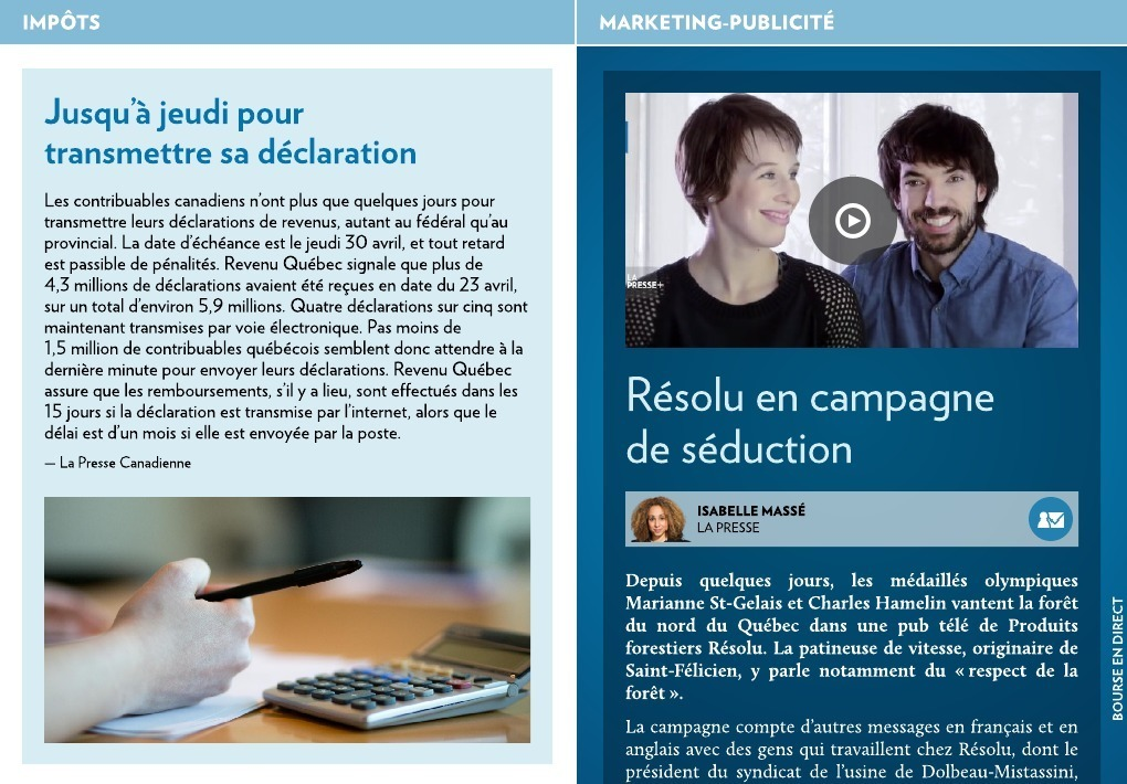 guide declaration de revenus quebec