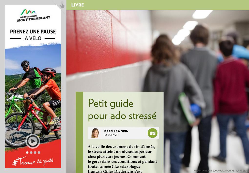 Petit Guide Pour Ado Stresse La Presse