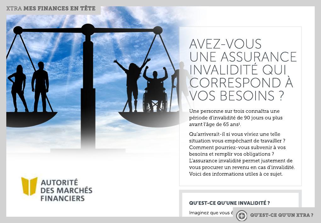 plainte refus indemnisation invalidité