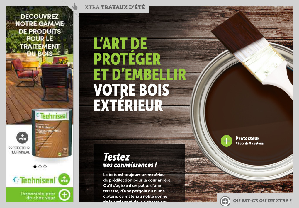 produit traitement bois exterieur - La Presse+