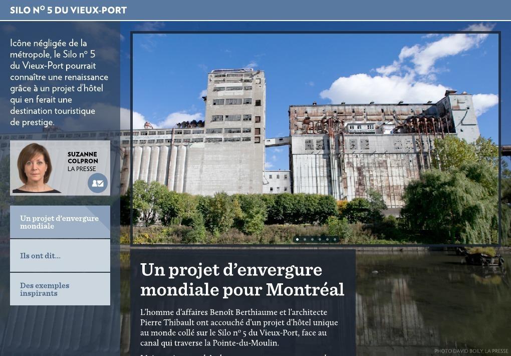 Un Projet D Envergure Mondiale Pour Montreal La Presse