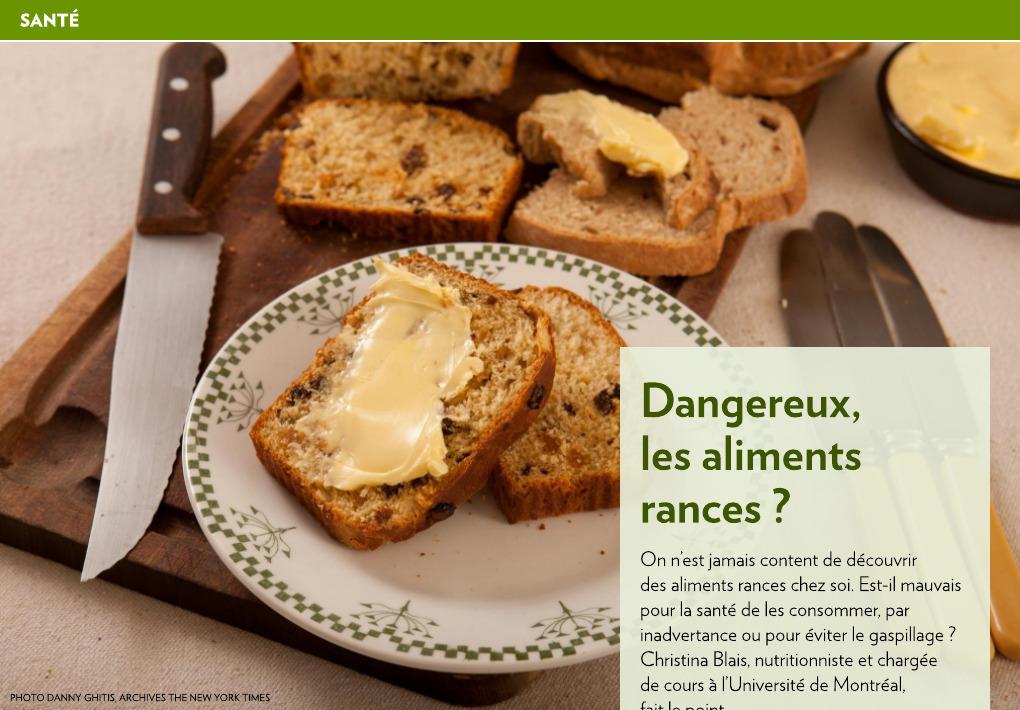 huile de noix rance danger