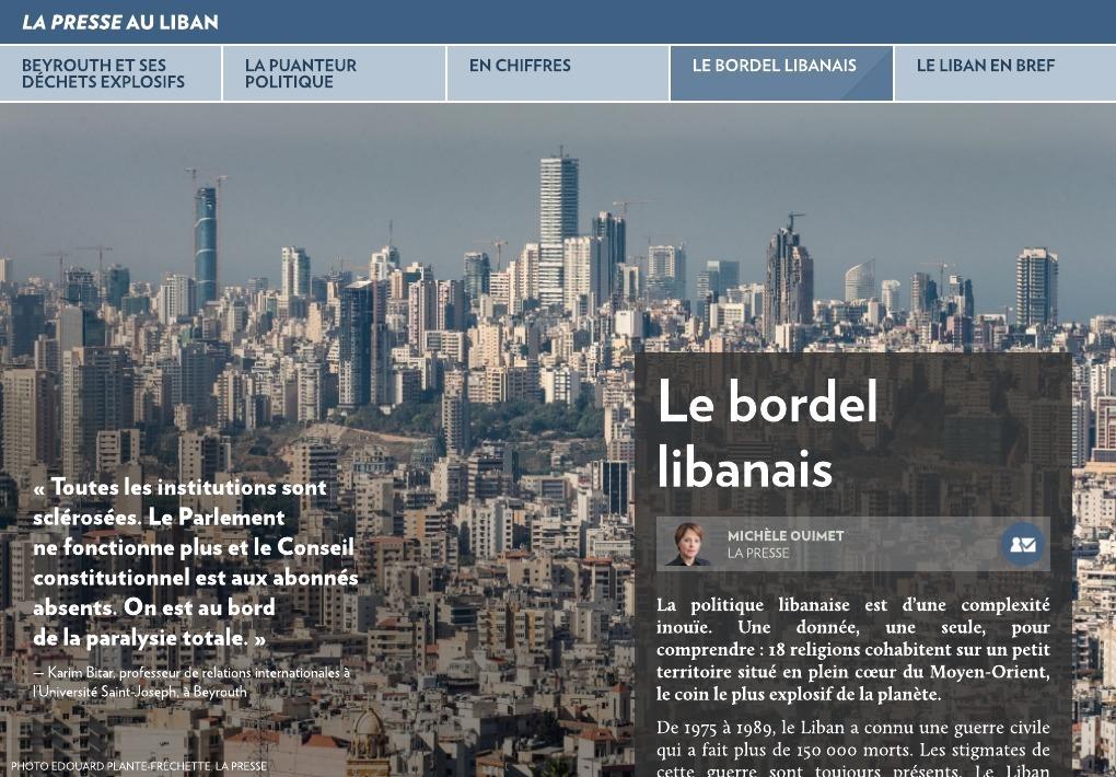 la guerre civile libanaise pdf