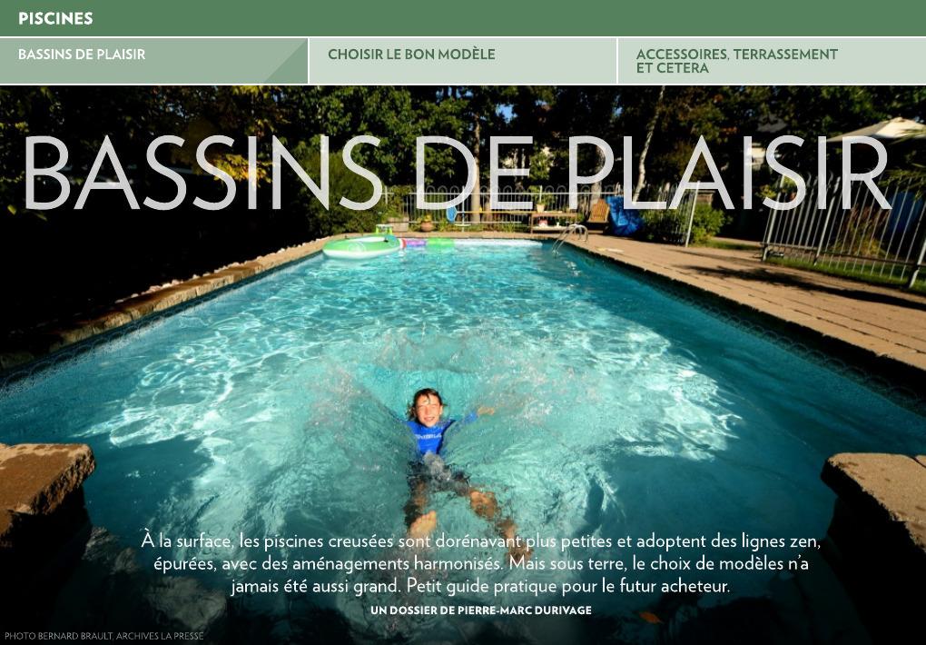 Bassins De Plaisir La Presse