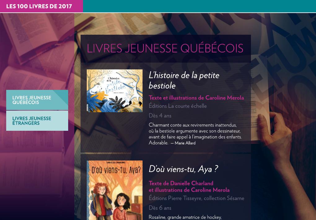 Livres Jeunesse La Presse