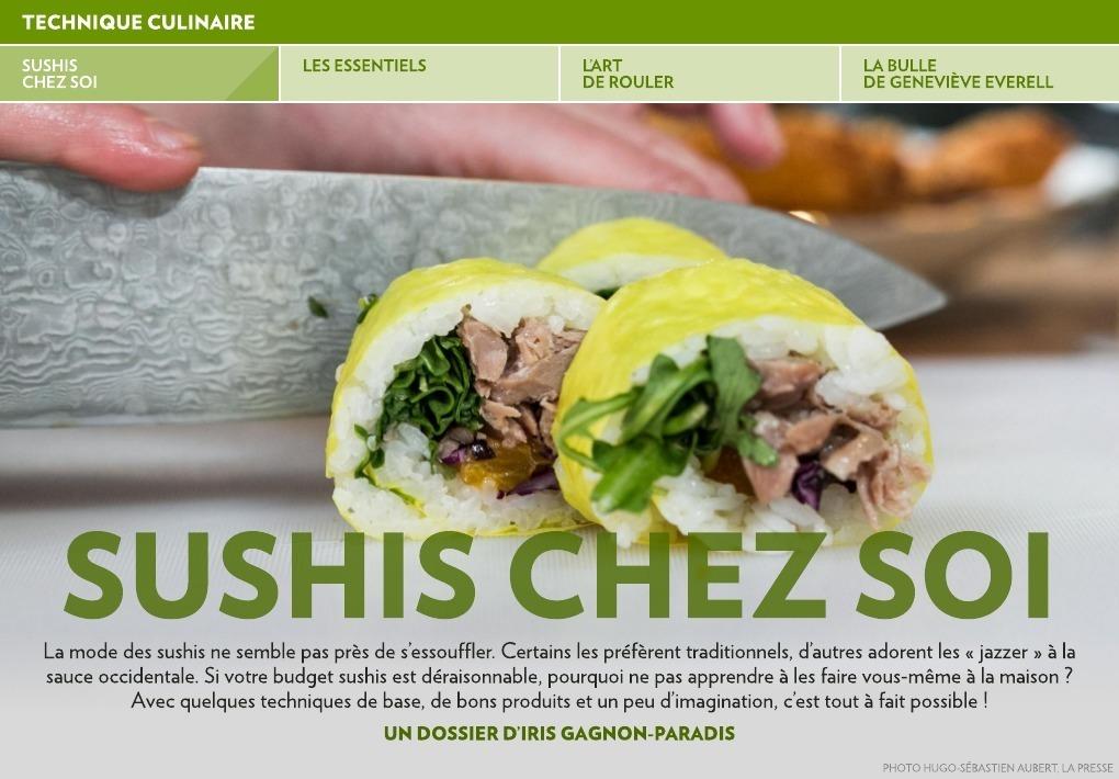 Sushis A La Maison La Presse