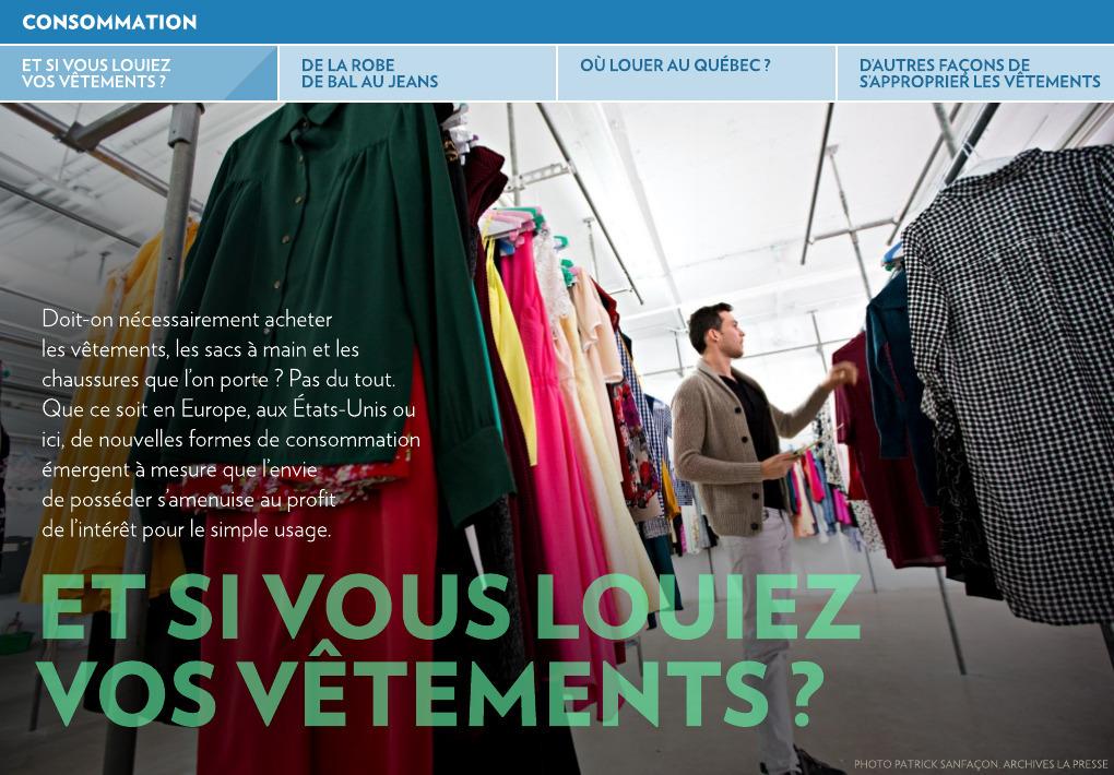 Si VêtementsLa Presse Vous Louiez Vos Et JFc3T1lK