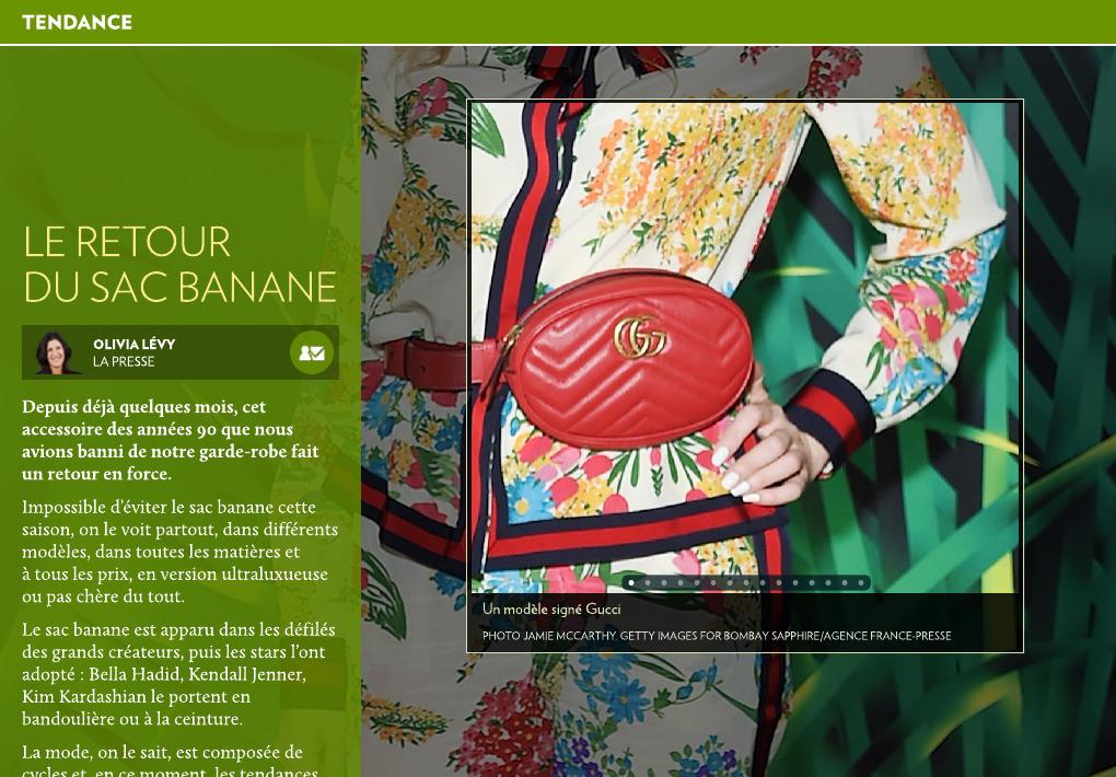 919d5041d6 Le retour du sac banane - La Presse+