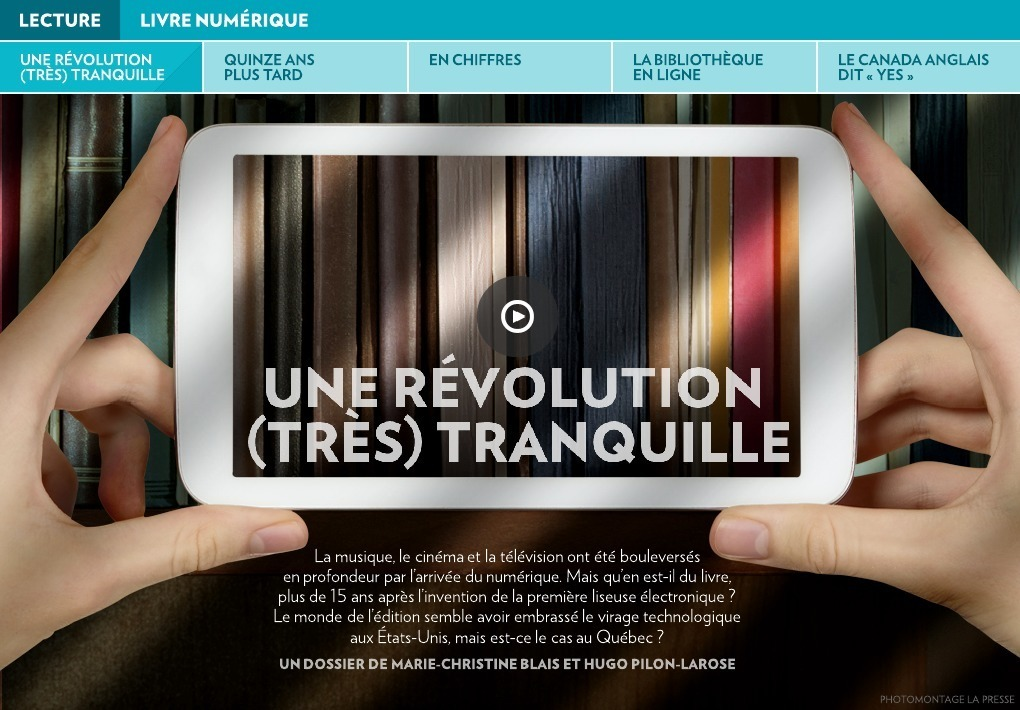 Une Revolution Tres Tranquille La Presse