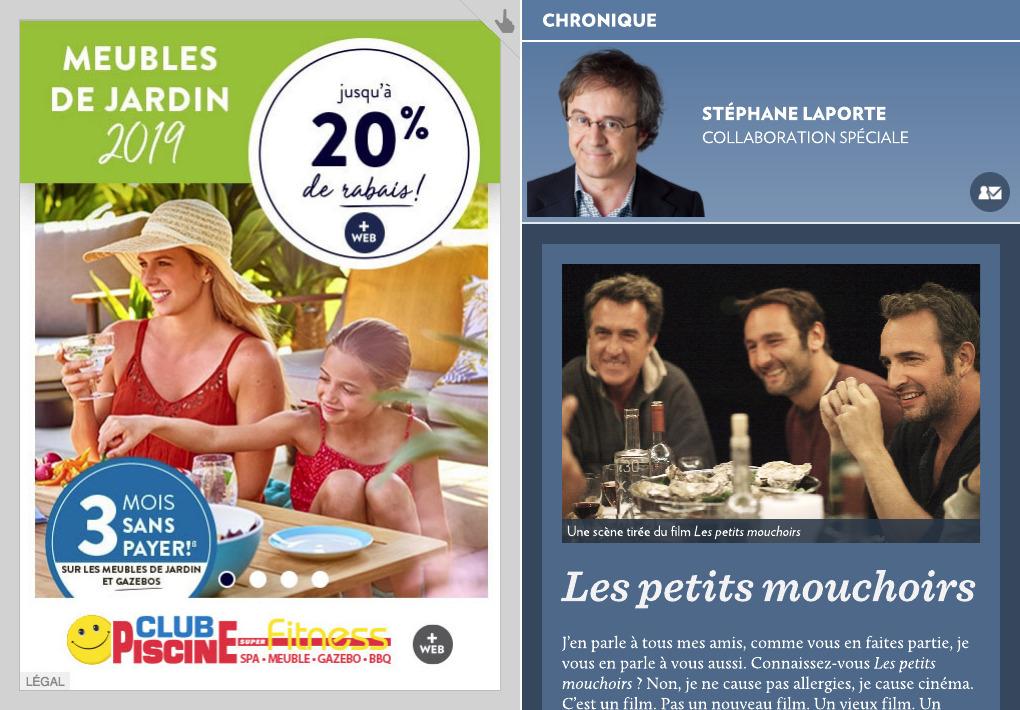 couleur attrayante magasiner pour l'original magasiner pour véritable Les petits mouchoirs » - La Presse+