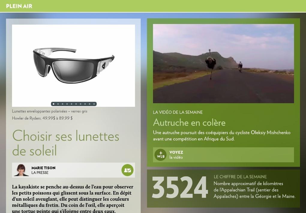 a6b649c45b87c0 Choisir ses lunettes de soleil - La Presse+